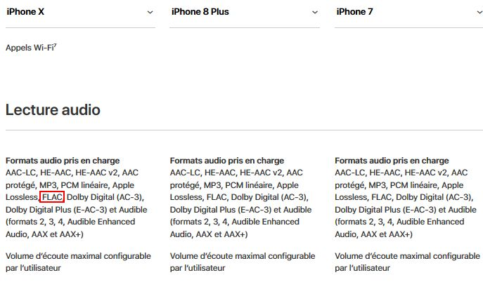 iPhone-FLAC