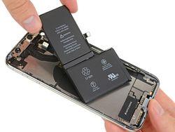 iPhone X batterie 02