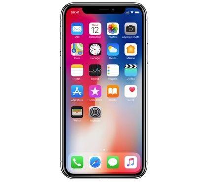 iPhone X face