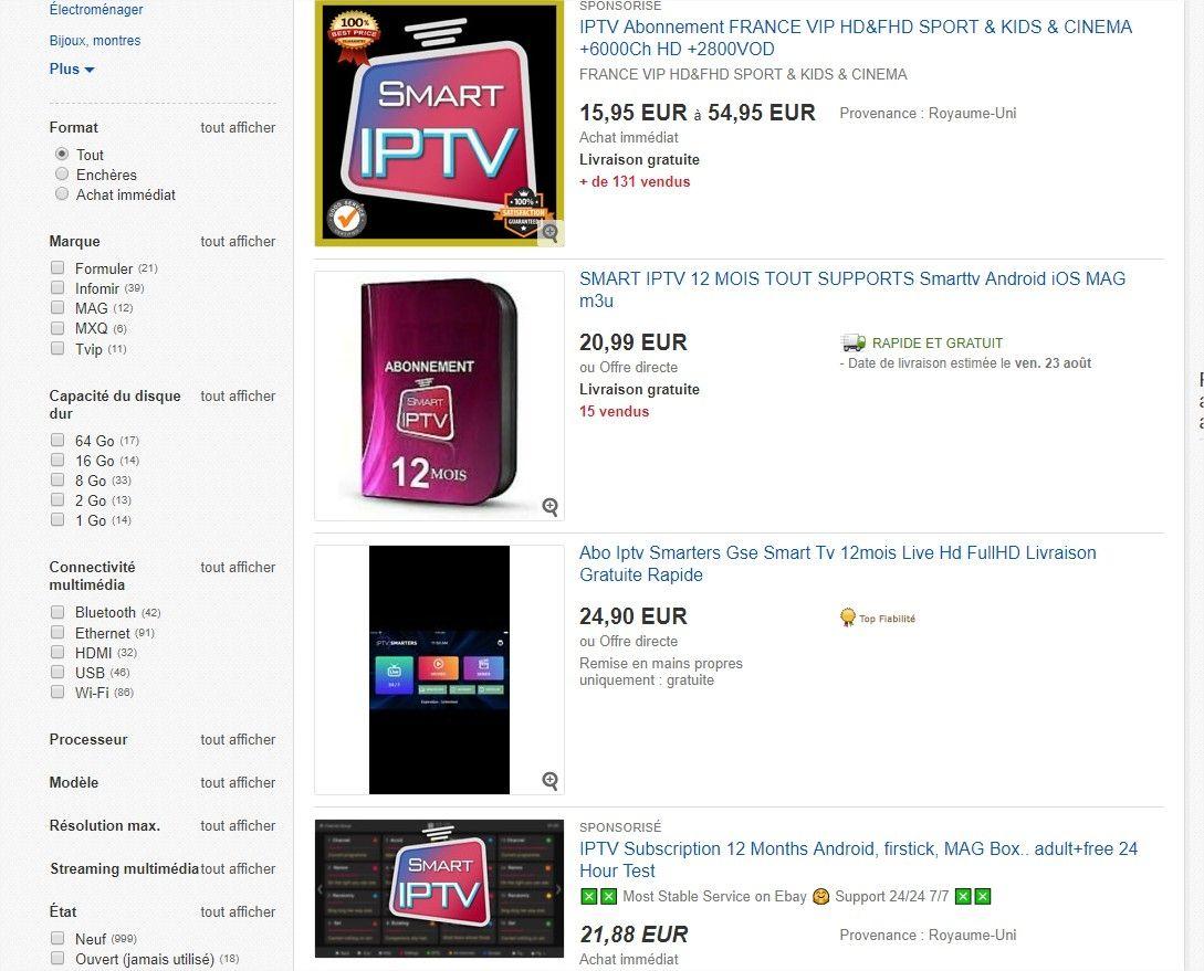 IPTV Ebay