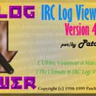 IRC Log Viewer : faciliter la lecture des logs IRC