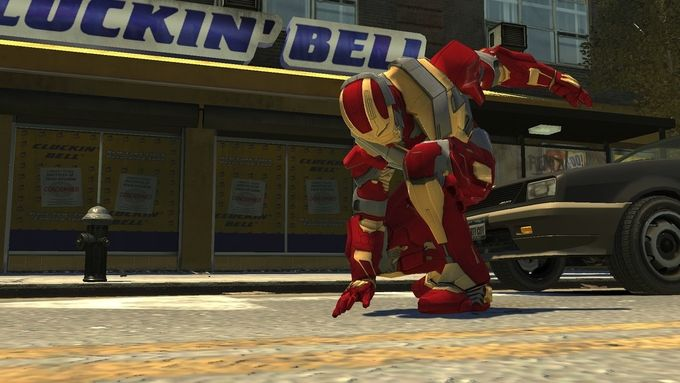 Iron Man IV GTA 4 mod - 1