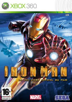 Iron Man jaquette Xbox 360