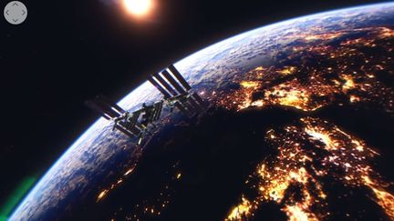 ISS Terre