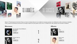 iTunes store 10 ans