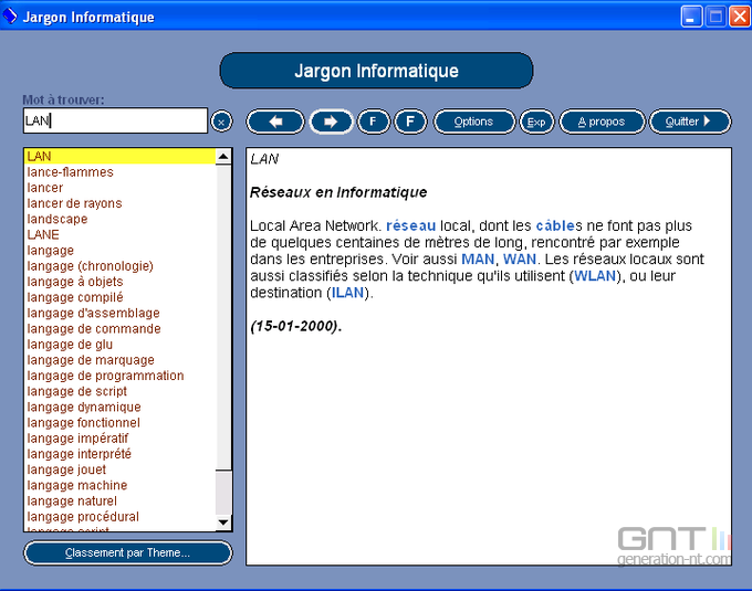 Jargon Informatique