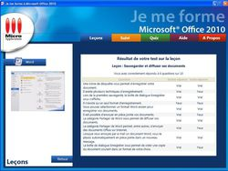 Je me forme a Office 2010 screen 1