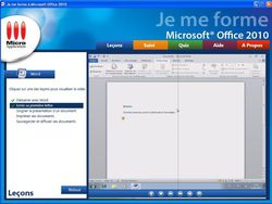 Je me forme a Office 2010 screen 2