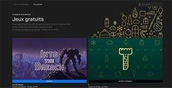 Jeux gratuits Epir Games Store