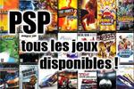 jeux PSP Sony