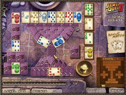 Jewel Quest Solitaire 2 Deluxe screen 1