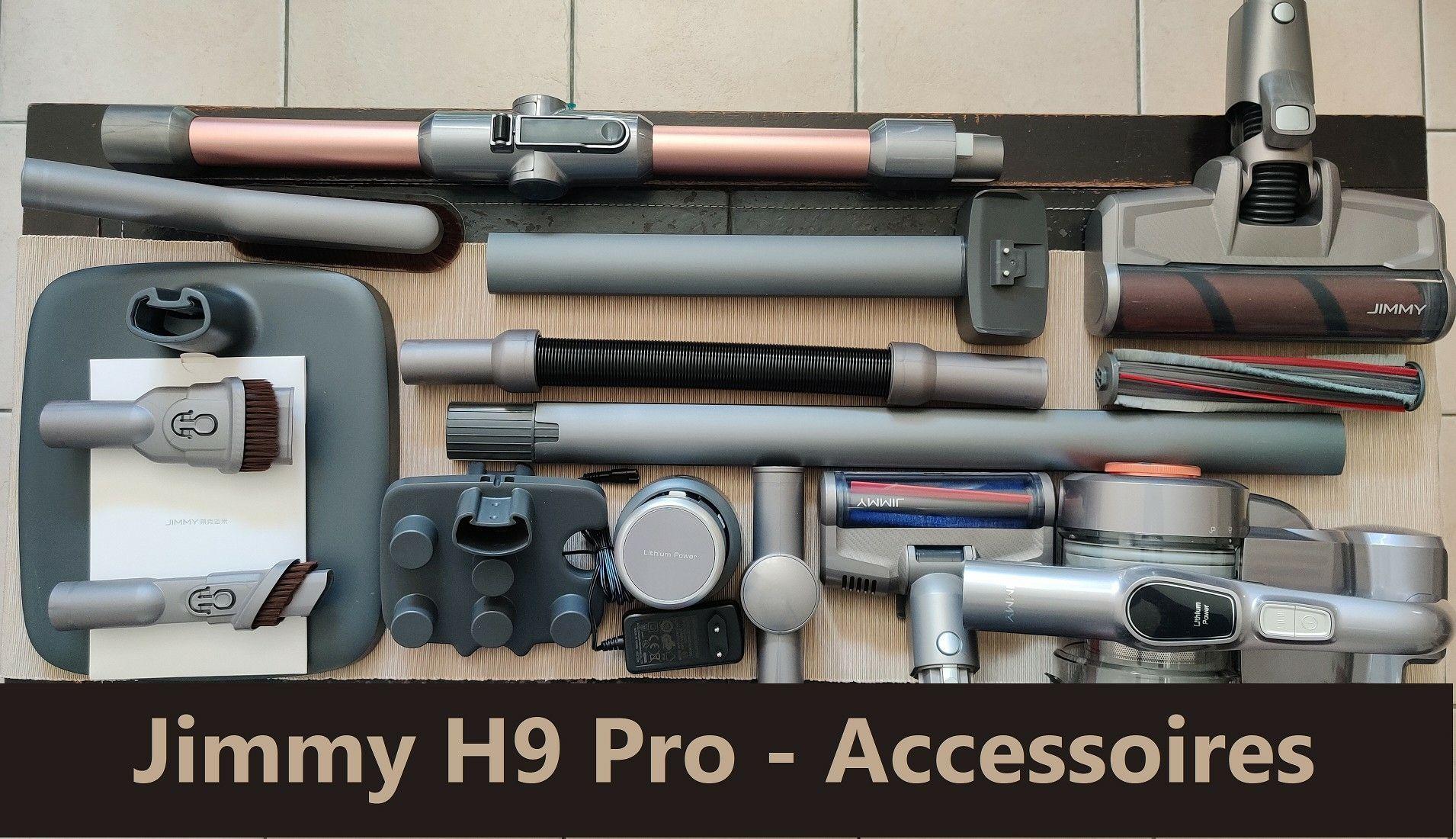 Jimmy H9 Pro -  aspirateur accessoires