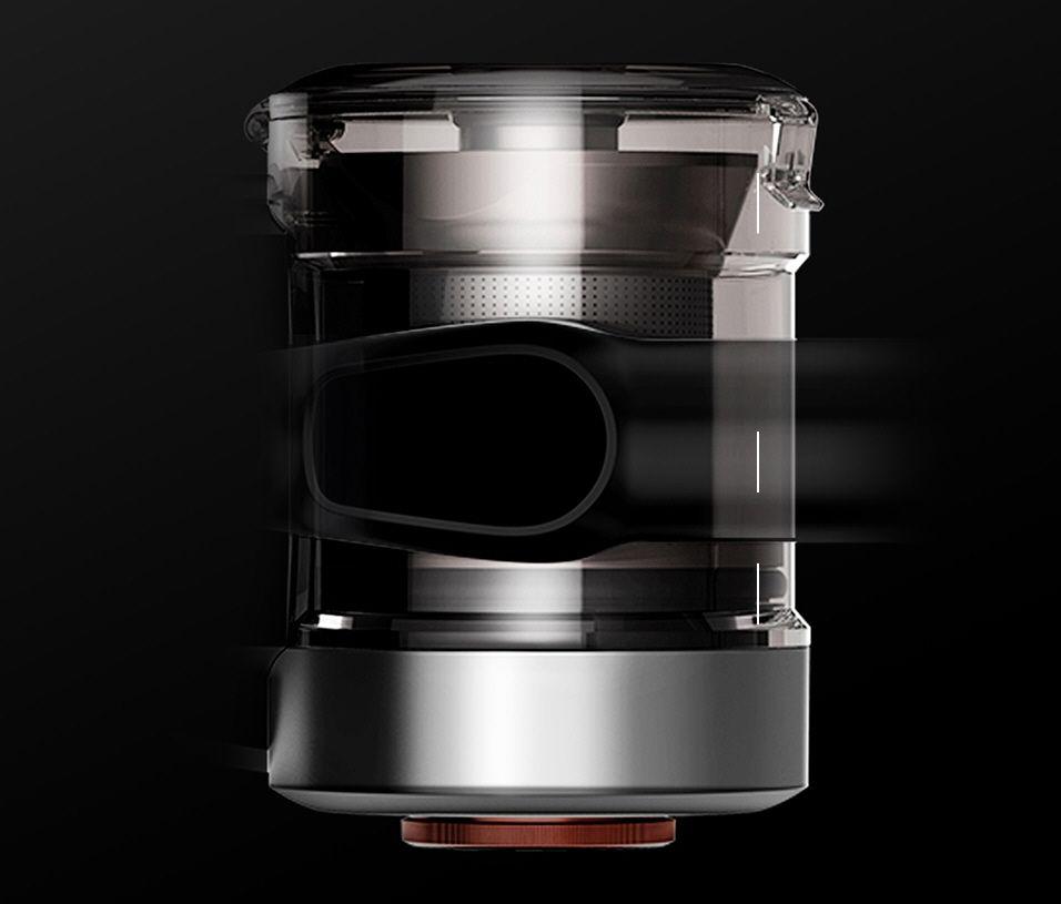 Jimmy H9 Pro - aspirateur réservoir poussière