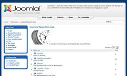 joomla! screen 1