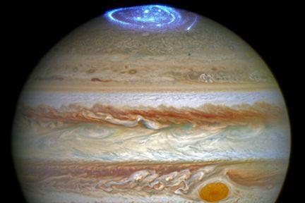Jupiter-aurore