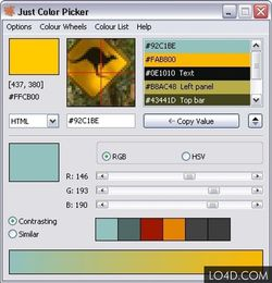 Just Color Picker screen1