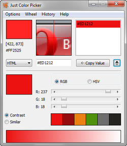 Just Color Picker screen2