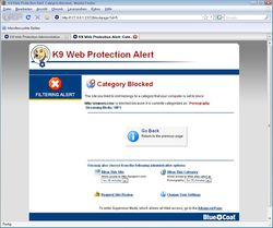 K9 Web Protection screen2