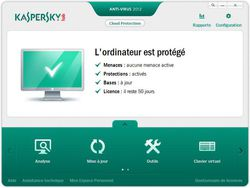 Kaspersky Anti-Virus screen 1