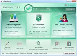 Kaspersky Pure screen 1