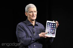 keynote iPad Air 2 Tim Cook