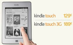 Kindle Touch France