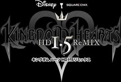 Kingdom Hearts 1.5 HD Remix - logo