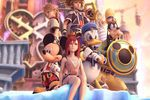 Kingdom Hearts 2 - artwork