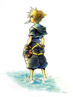 Kingdom hearts artwork 1