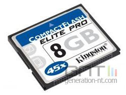 Kingston cf elitepro 8gb small