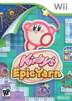 Kirby's Epic Yarn - jaquette US