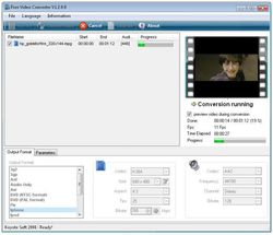 Koyote Free Video Converter screen2