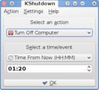 KShutdown : automatiser les fonctions d'allumage et d'extinction du PC