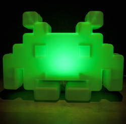 Lampe Space Invaders 1