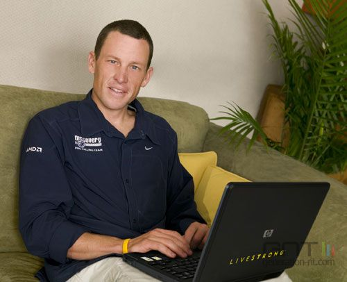 Lance armstrong son pc livestrong