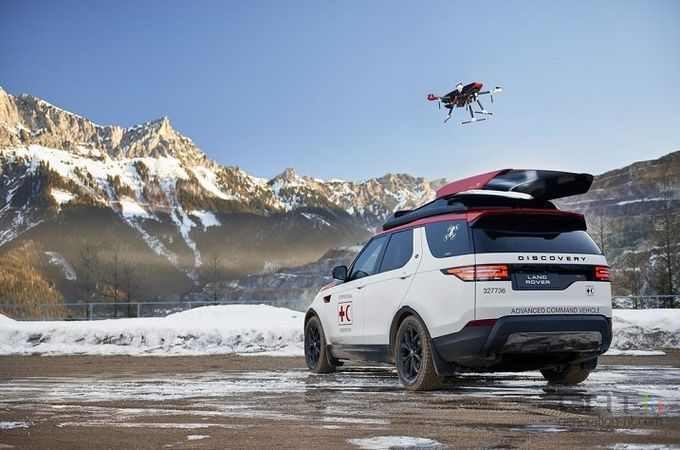 Land Rover Project Hero drone