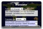 Widget Language Translator