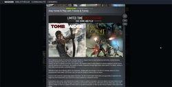 Lara croft Steam