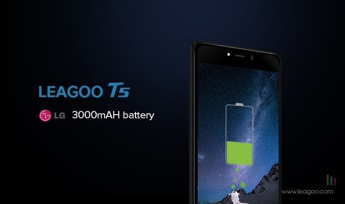 Leagoo T5 batterie