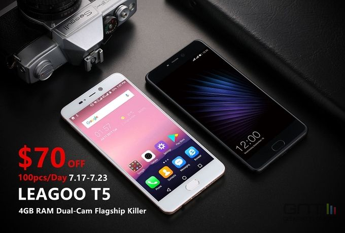 Leagoo T5 promotion