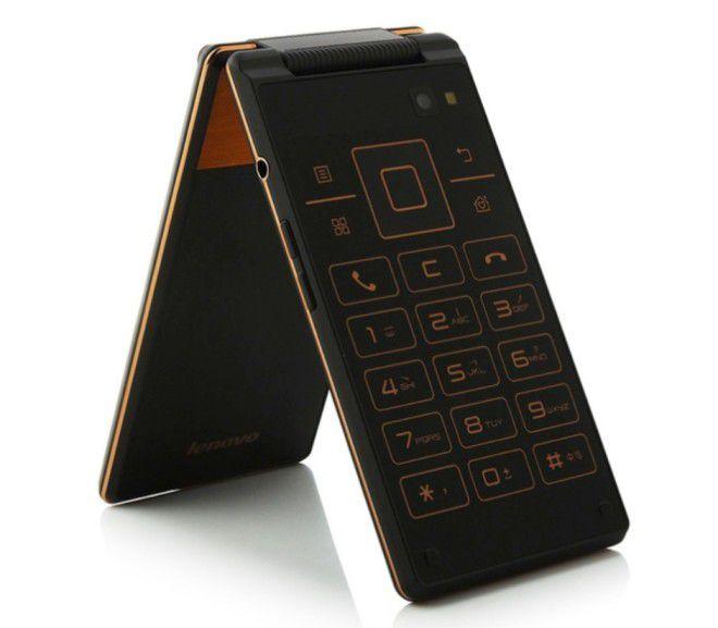 Smartphones Android à clapet : un modèle 3G / KitKat chez
