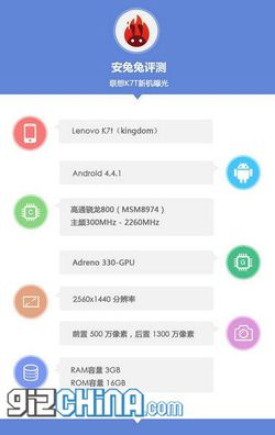 Lenovo K7T Kingdom