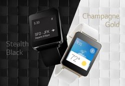 LG G Watch coloris