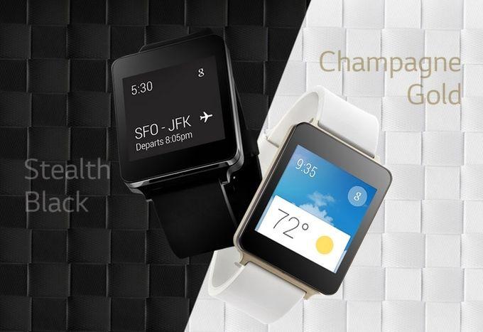 LG G Watch coloris