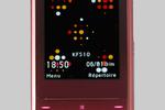 LG KF510 rouge velours