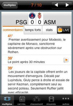 Ligue 1 Orange iPhone 01