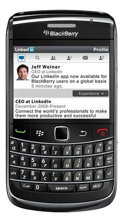 LinkedIn Blackberry