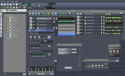 Linux MultiMedia Studio screen2