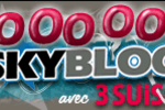 Logo Skyblog ; 7 millions