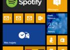 Lumia 1320 accueil